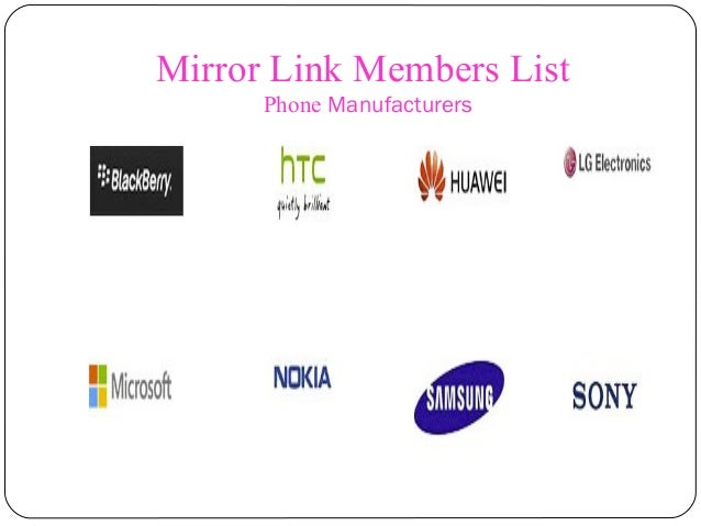 Lg Mirrorlink