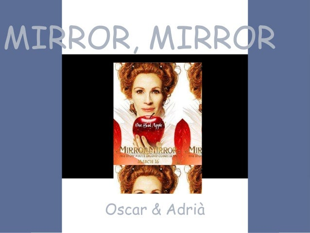 MIRROR, MIRROROscar & Adrià