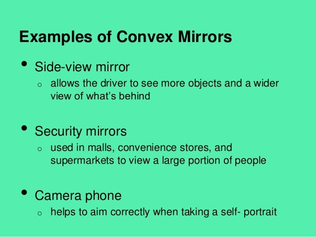Concave and convex mirrors ppt video online download.