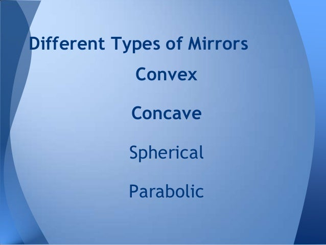 Mirrors Ppt