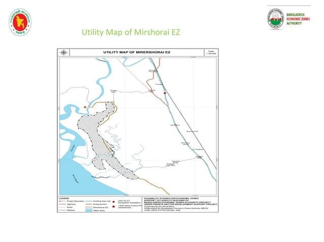 Transportation Network of Mirshorai EZ