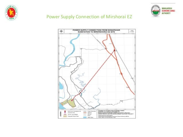 Figure 1: Proposed sub zone one (Eastern Side of Muhuri Project road ) mirshorai economic zone project