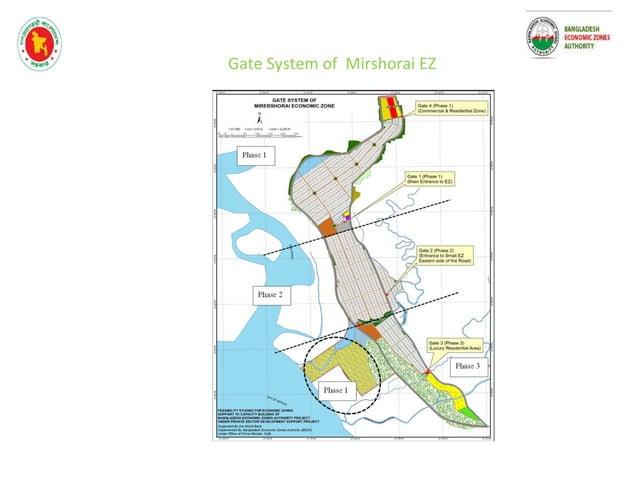 mirshorai economic zone project Figure 2: In-betweens CDSP and BWDB Embankment ( Sunni Mijirteck village- Western side of ...