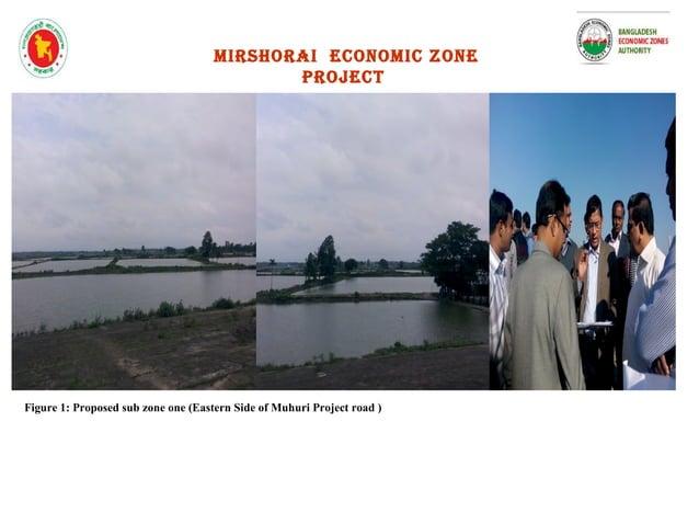 Figure 3 : Eastern side of CDSP (Ponds) Figure 4 : Western side of CDSP ( Forest) mirshorai economic zone project