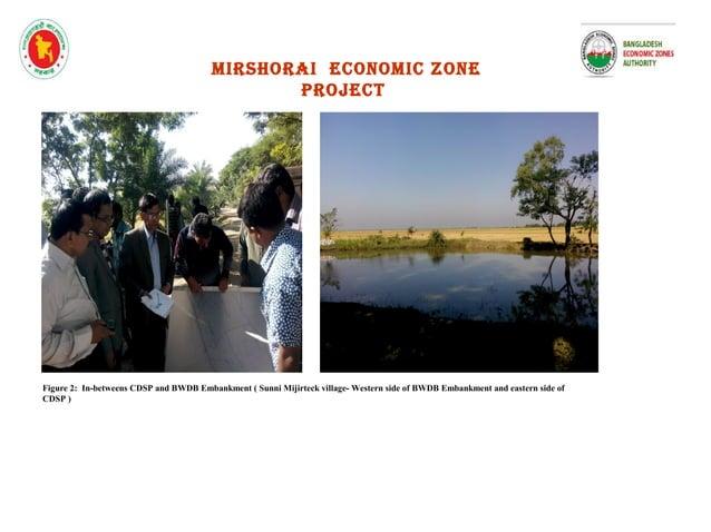 mirshorai economic zone project Figure 5 : Bamonsundor canal –towards the Bay of Bengal Figure 6 : View of Bamonsundor can...