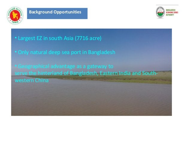 Background Opportunities STRENGTHS • Abundant natural resources • Labor resource with lower cost base • Sufficient land re...