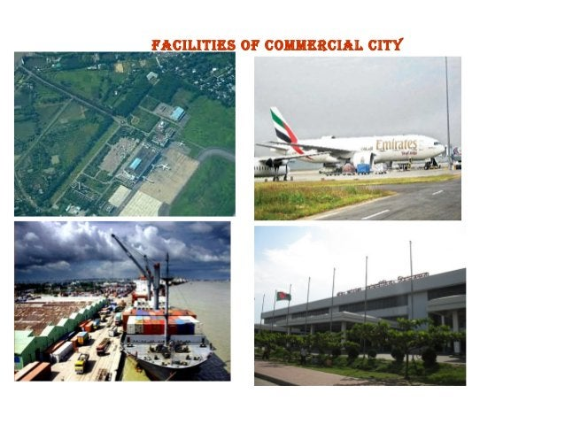 facilities of commercial city