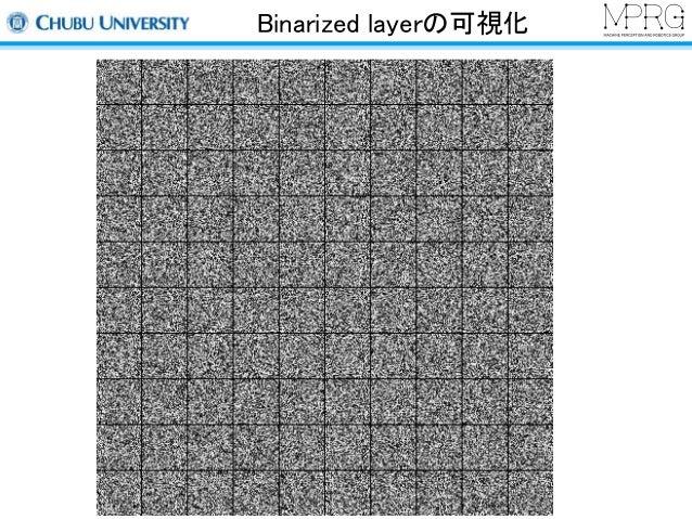 Binarized layerの可視化