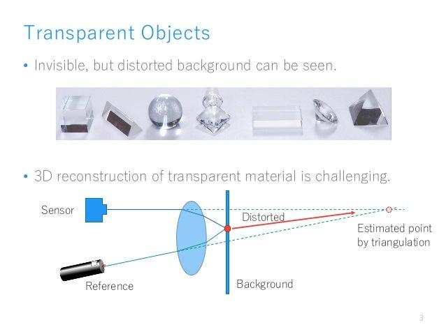 MIRU2016 invited talk - Recovering Transparent Shape from Time-of-Flight Distortion (CVPR 2016) Slide 2