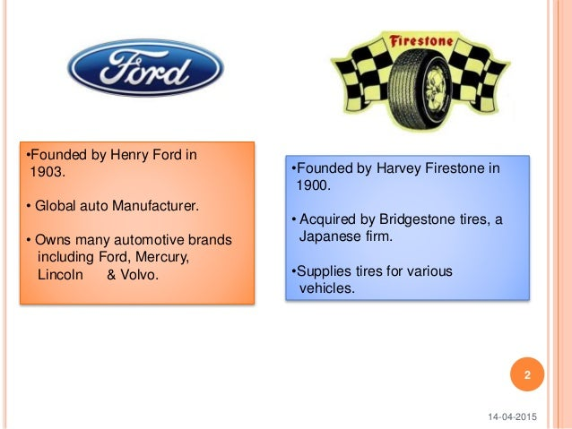 Ford-Firestone Case - SlideShare