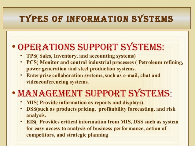 ackoffs management mis information system Learn the differences between computer information systems and management information systems, two specializations in information technology.