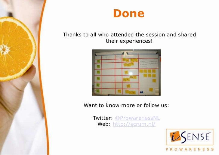 DoneThanks to all who attended the session and shared                their experiences!       Want to know more or follow ...