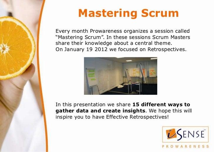 Techniques for Effective Retrospectives Slide 2