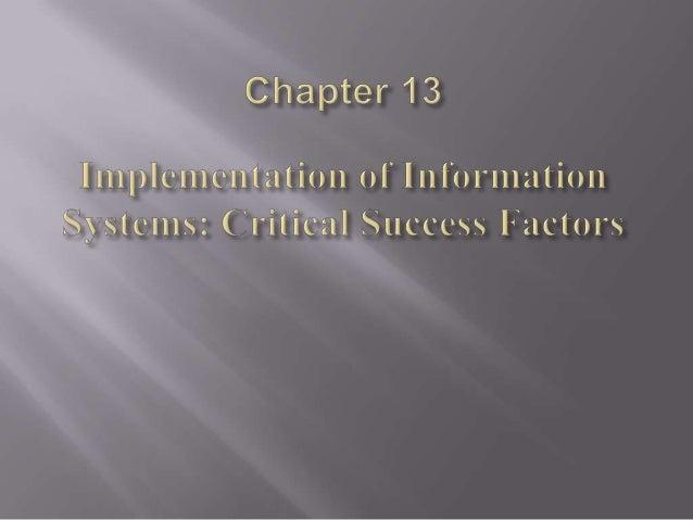     The DeLone & McLean Model The Seddon Model The Organizational Transformation Model