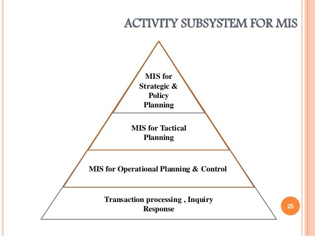 MIS - Strategic Business Objectives