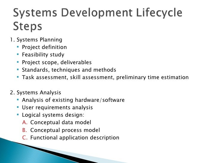 System Design Steps Software Preliminary System Study