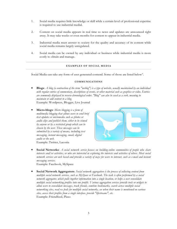 The Social Internet - Report