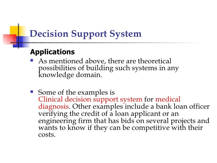 decision support system