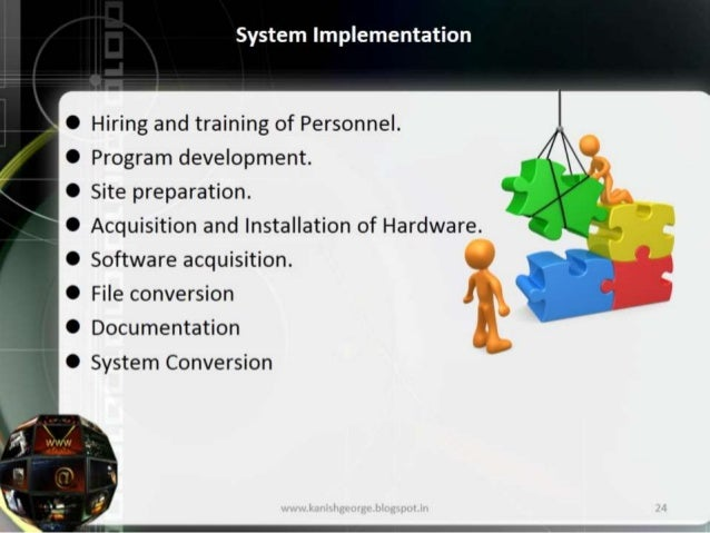 System Analysisdesign Development And Implementation