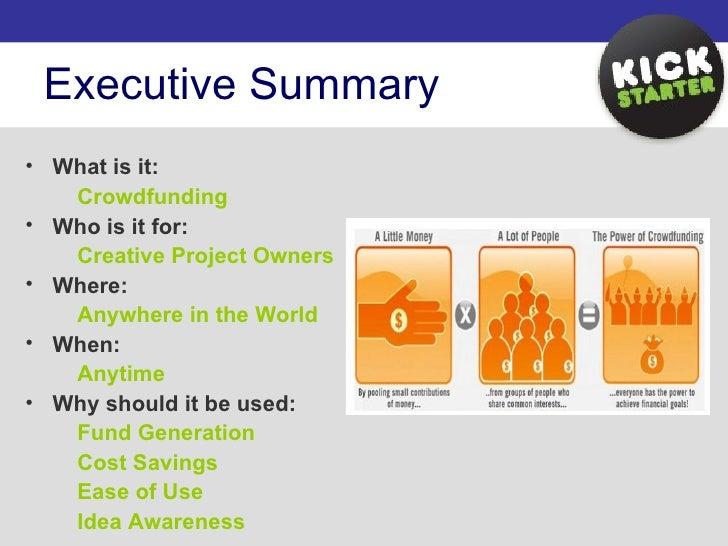 Kickstarter Presentation Slide 2
