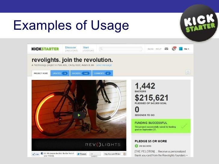 Kickstarter Presentation Slide 3