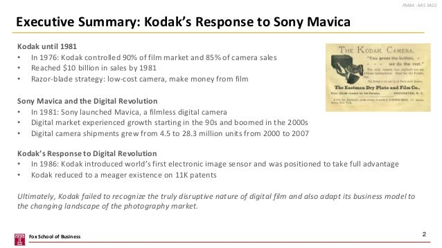 kodak the digital revolution Kodak didn't replace film with digital photography despite  blocks of the modern  computer revolution after not really supporting the xerox alto.