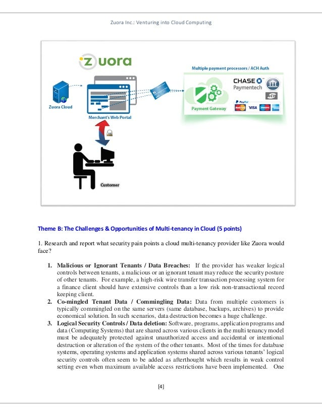 Zuora Inc.: Venturing into Cloud Computing Case Solution