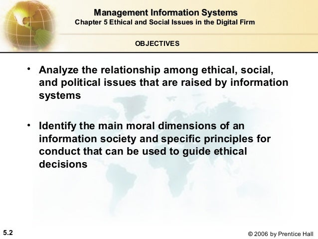 relationship among ethical social and political issues that are raised by information systems View social, ethical, and legal issues in information systems from commerce 2ka3  the major ethical, social, and political issues raised by information systems.