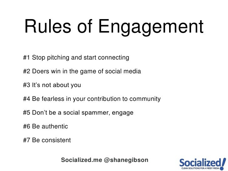 #1 Stop pitching and start connecting<br />#2 Doers win in the game of social media<br />#3 It's not about you<br />#4 Be ...