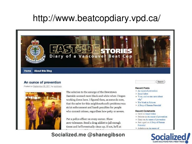 http://www.beatcopdiary.vpd.ca/<br />
