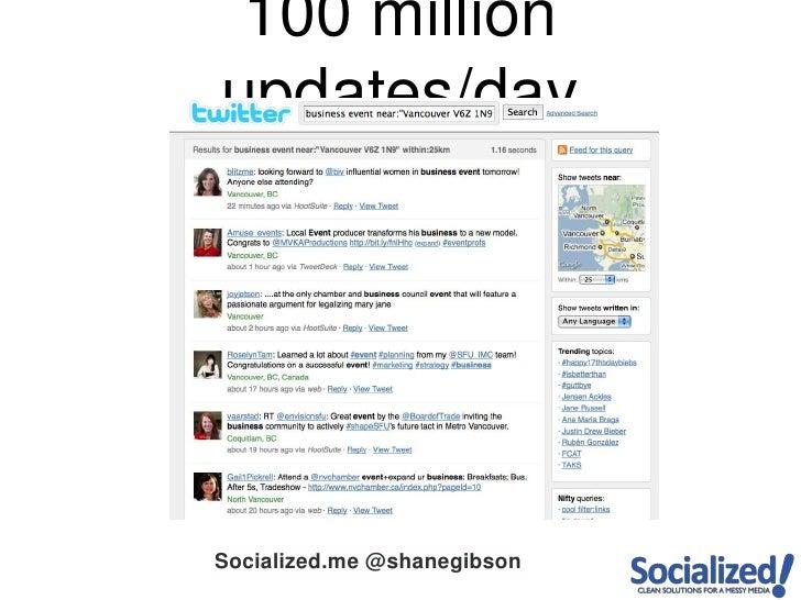 100 million updates/day<br />