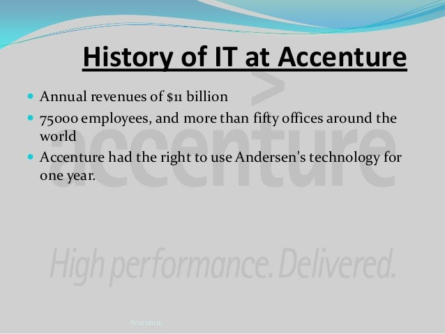 Strategic IT Transformation at Accenture Case Study Solution & Analysis