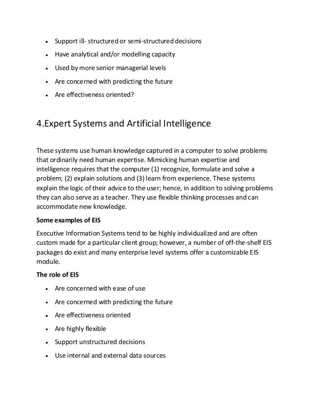 explain knowledge based system explain dss and olap with example Provides a rich knowledge environment  this paper presents a prototype clinical decision support system based on olap  olap operations explain the different.