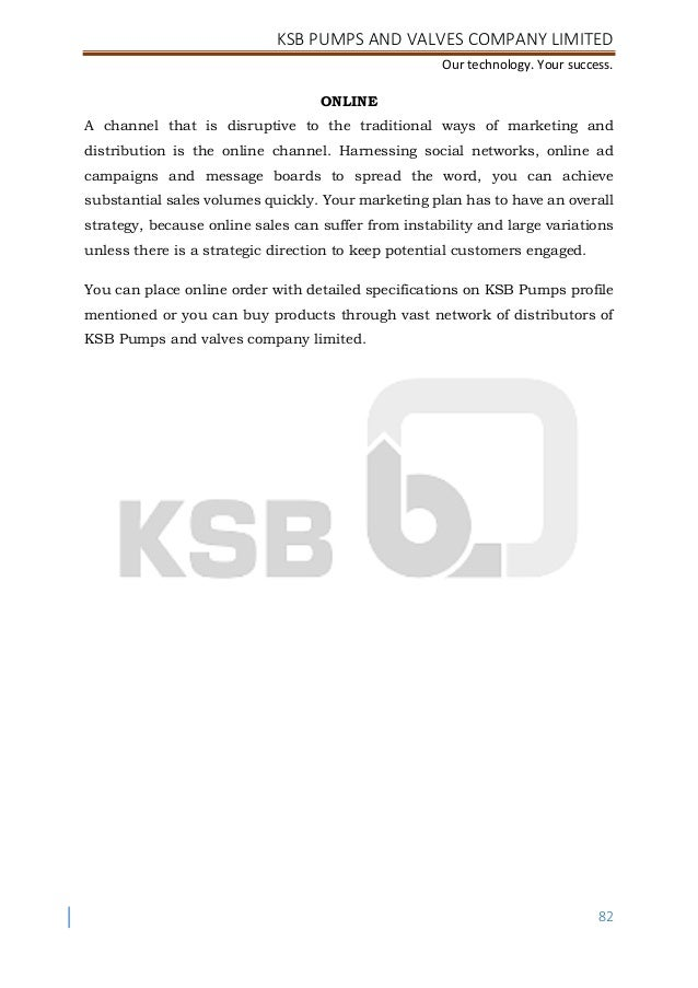 KSB INTERNSHIP PROJECT