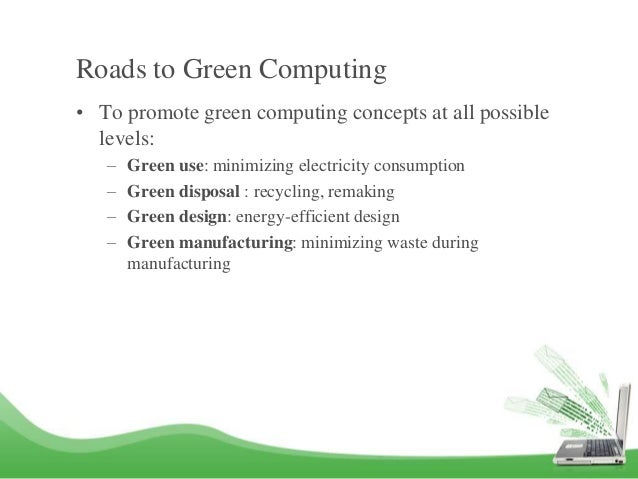 Is green computing good for business case study pdf