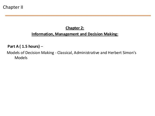 Mis chapter 2   infomation, management and decision making Slide 2