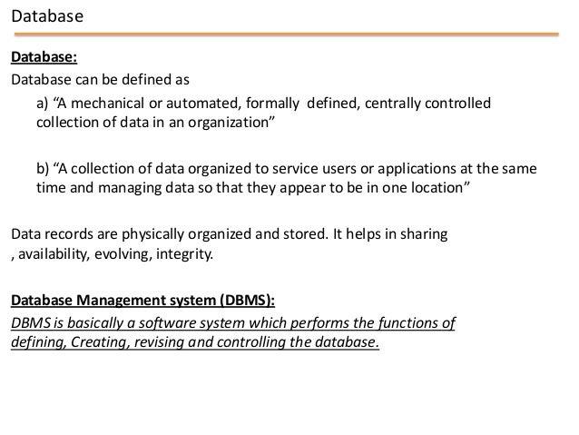 Mis chapter 4   database management - copy Slide 3
