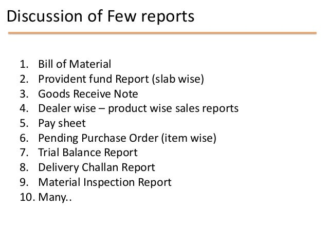 MIS chapter 8    mis reports Slide 3