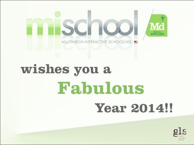 wishes you a  Fabulous Year 2014!!