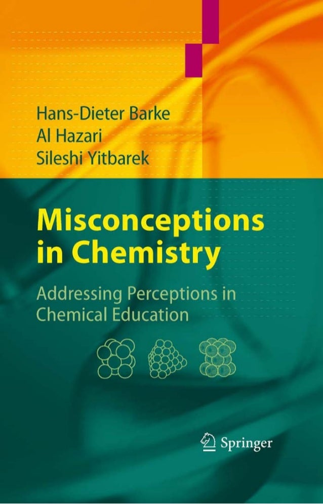 Misconceptions in Chemistry