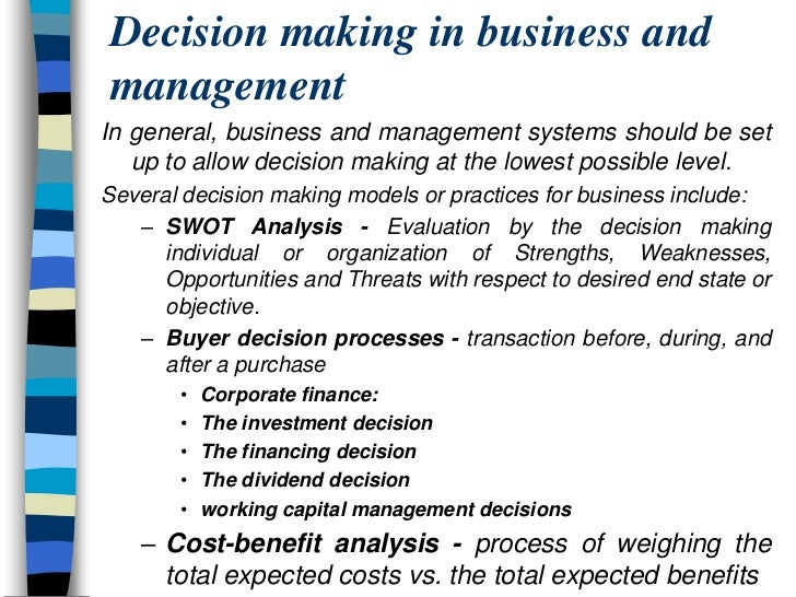 mis and decision making Value of information that is provided for effective decision making this paper  explores  keywords: mis, dss, decision making, information, ems, digital firm.