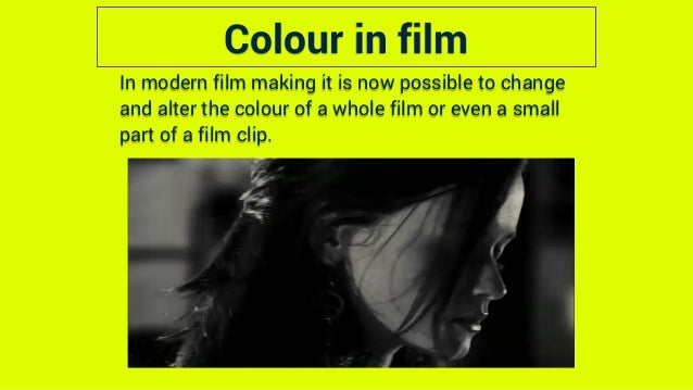 Film Language Mise En Scene Explanation And Examples