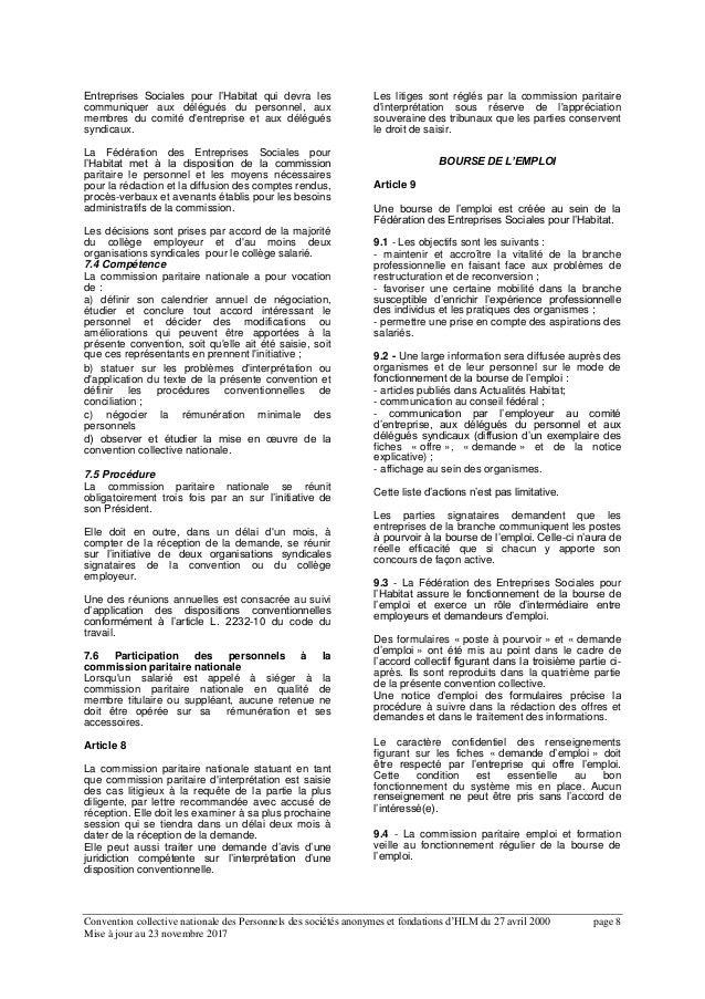 Idcc 2150 Avenant Rectificatif Mise En Conformite