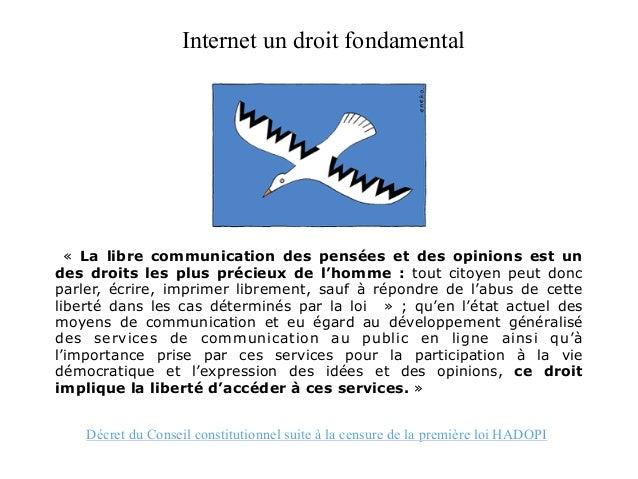 Conserver les données de connexion La loi anti terroriste de 2006 et la loi HADOPI contiennent des dispositions applicable...