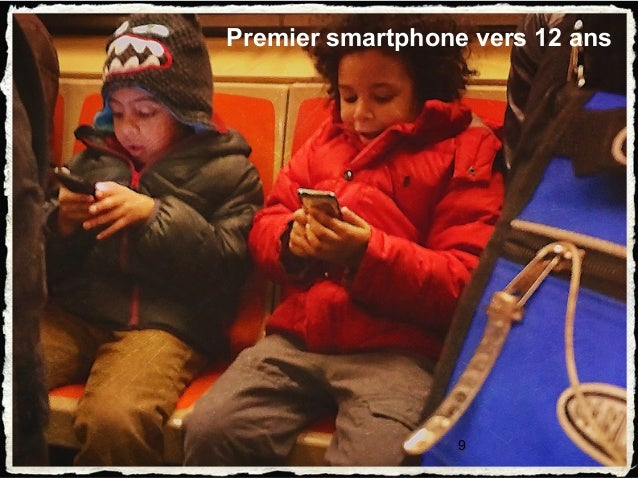 9 Premier smartphone vers 12 ans