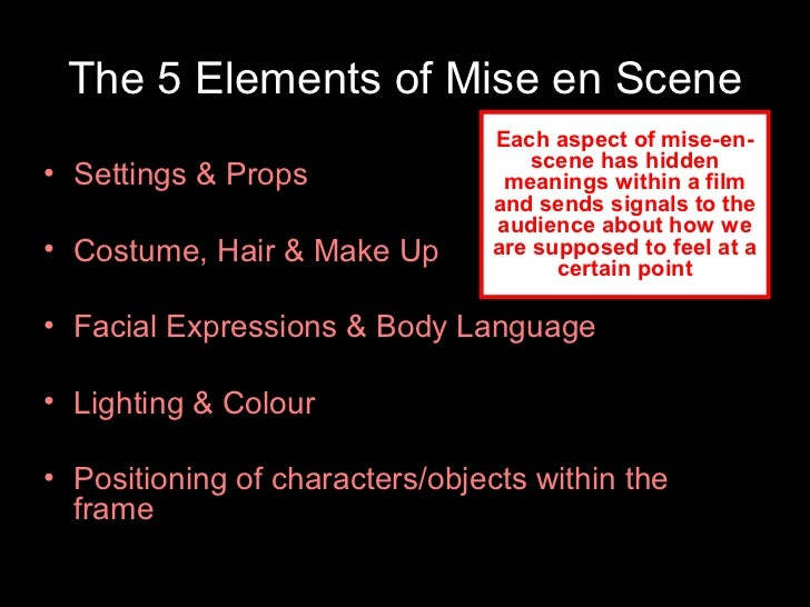 Mise-en-scène: Discover the 15 Key Principles Used by Top Filmmakers