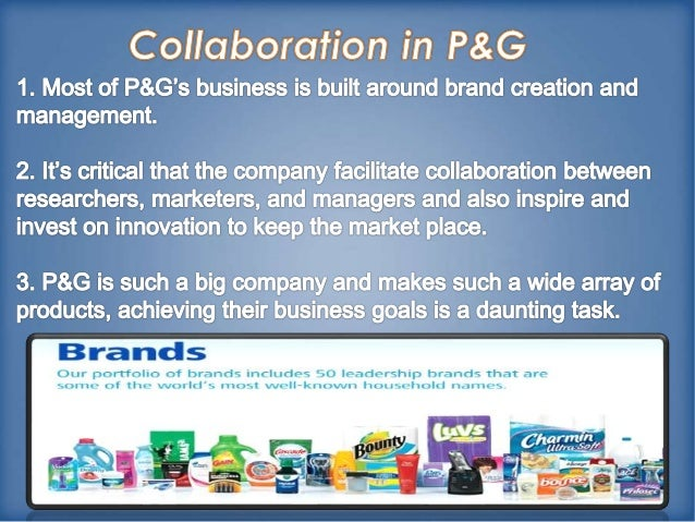 Collaboration and innovation at procter gamble essay