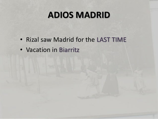 rizal chapter 17 misfortune in madrid summary Start studying rizal: chapter 17 - misfortunes in madrid (1890-1891) learn vocabulary, terms, and more with flashcards, games, and other study tools.