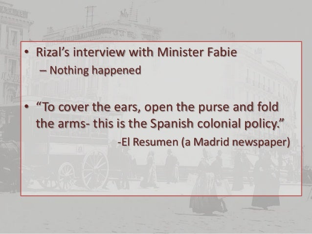 rizals misfortunes in madrid Chapter 17:misfortunes in madrid august 1890- rizal arrived in madrid to seek  justice for his family and the calamba tenants he sought the help of the filipino.