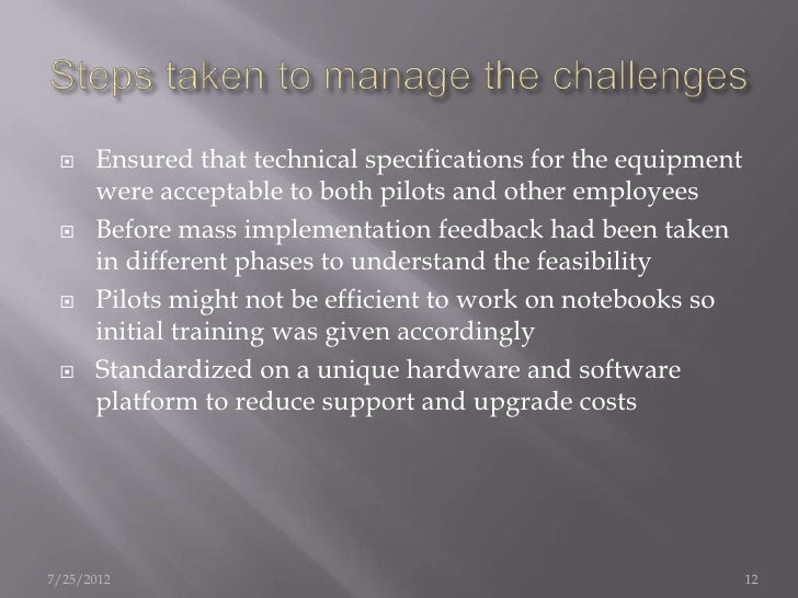 Are many of lufthansa's challenges identified